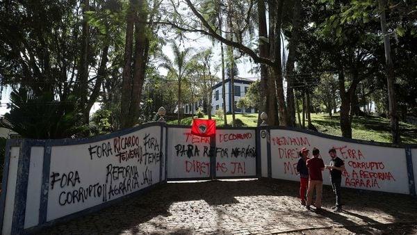 Apenas uno de cada veinte brasileños apoya al presidente Michel Temer