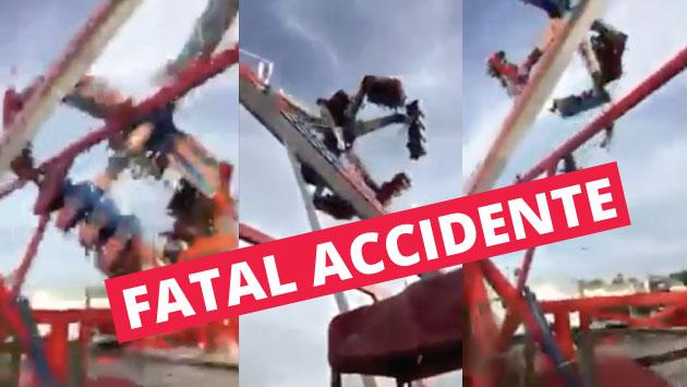 Estados Unidos: Un muerto y siete heridos tras accidente en parque de diversiones. (YouTube:Nocturnaldeliberance)