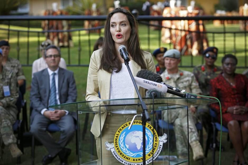 Angelina Jolie acaba de rodar