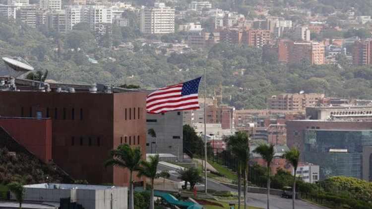 La embajada de EEUU en Caracas