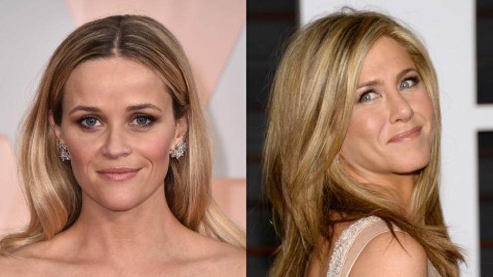 Jennifer Aniston y Reese Witherspoon fueron hermanas en Friends y ahora preparan una serie juntas