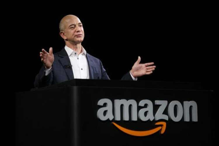 Jess Bezos, creador de Amazon y dueño de The Washington Post