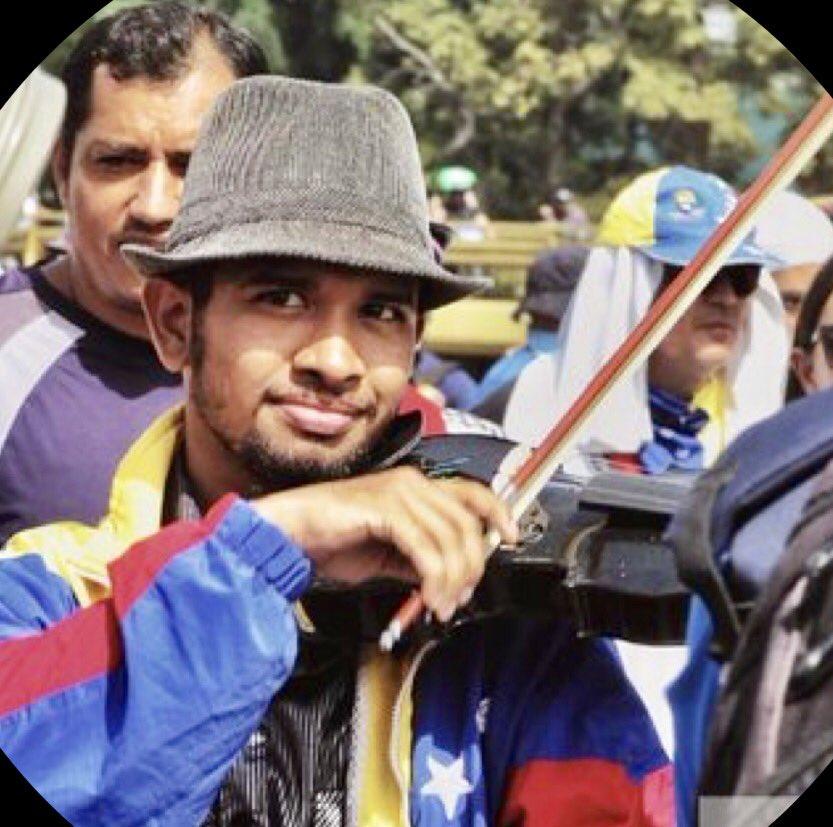 GNB detiene al violinista Wuilly Arteaga por manifestar durante paro cívico