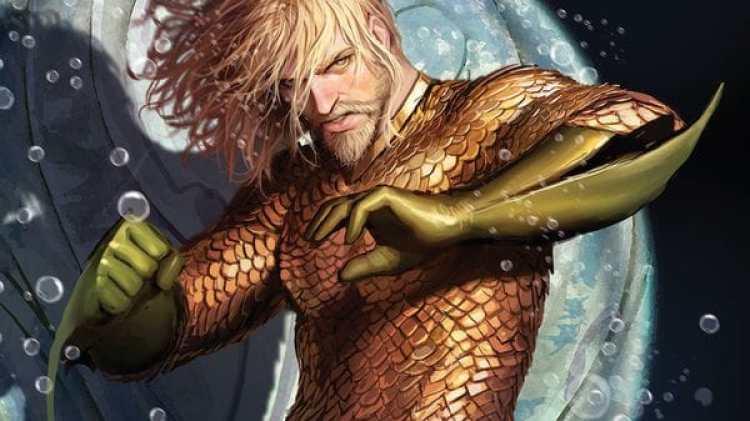 "Imagen de la nueva entrega de DC Comics con un ""Aquaman"" muy cambiado (DC Comics)"