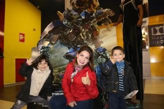 Antonella Douchen, Angie Douchen y Alejandro Douchen