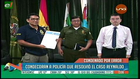 Condecoran a Capitán de Policía que esclareció el caso de Reynaldo Ramírez