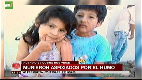 Padre de niños que murieron asfixiados en un incendio, afirma que ellos no estaban solos