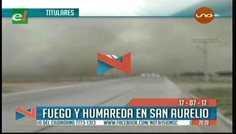 Video titulares de noticias de TV – Bolivia, noche del lunes 17 de julio de 2017