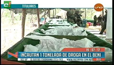 Video titulares de noticias de TV – Bolivia, noche del miércoles 19 de julio de 2017