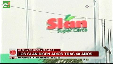 Cadena de supermercados Slan cerrará sus puertas después de 40 años