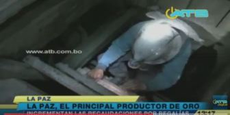 La Paz incrementa su producción minera