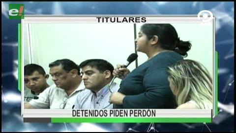 Video titulares de noticias de TV – Bolivia, noche del viernes 14 de julio de 2017