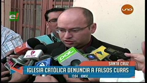 Iglesia Católica denuncia falsos sacerdotes en Santa Cruz