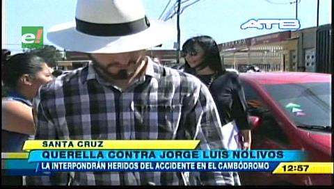 Heridos del accidente en el Cambódromo demandarán a Jorge Nolivos