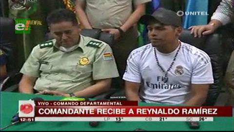 Reynaldo Ramírez agradece a la Policía por ayudar a demostrar su inocencia