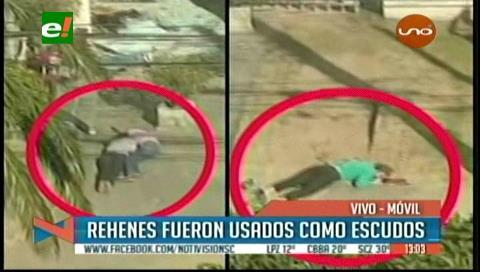 Atraco a Eurochronos: Delincuentes usaron como escudos a los rehenes