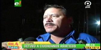 Santa Cruz: Detienen a 15 asiáticos que no portaban su documentación