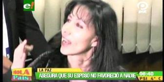 Caso Da Silva: Esposa de ex juez Rivadeneyra defiende su trabajo y pide ser investigada
