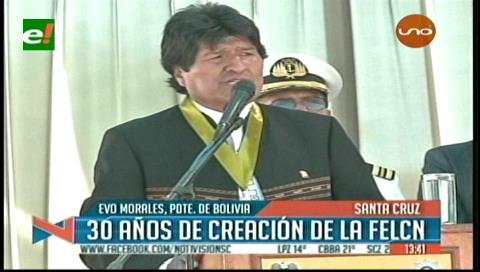 Evo reitera llamado al diálogo para resolver problemas con Chile