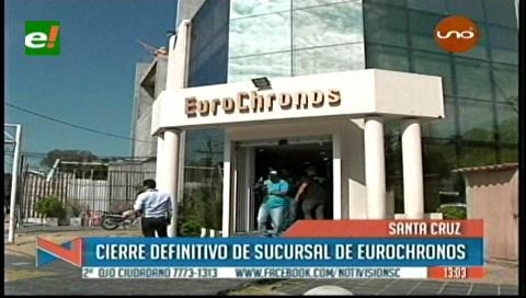 Joyería Eurochronos cierra su oficina central luego de la balacera