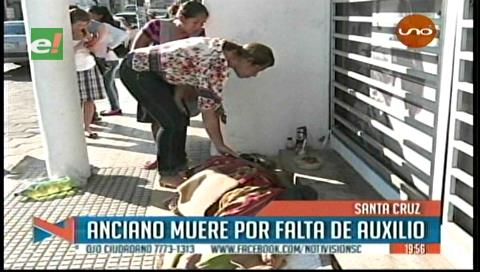 Anciano en situación de calle muere por falta de auxilio