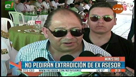 Ministro Romero: Romer Gutiérrez no será extraditado al país