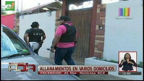 Tres detenidos en allanamiento vinculado al caso Eurochronos