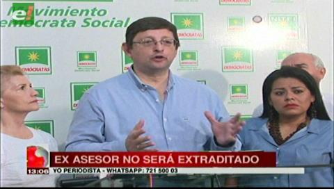 Senador Ortiz critica la decisición de no pedir la extradición de Romer Gutiérrez al país