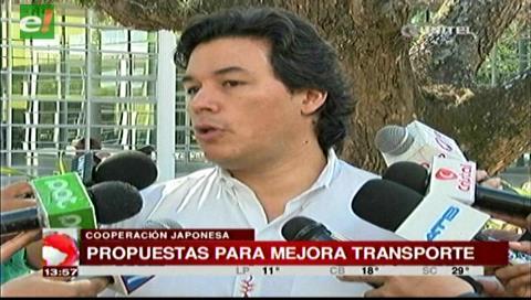 Santa Cruz: JICA divulgará plan de mejora del transporte
