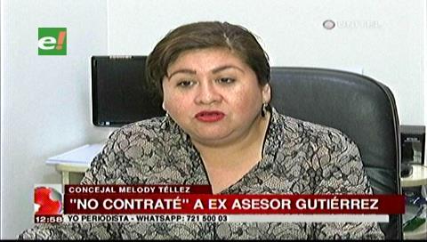 Ex asesor Romer Gutiérrez genera división entre concejales del MAS