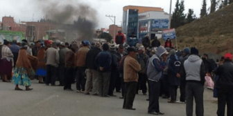 Gobierno:  En Achacachi imponen multas de 200 Bs. a quienes no acatan movilizaciones