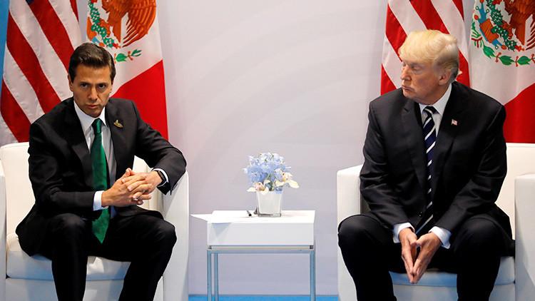 Trump amenazó a Peña Nieto con suspender los contactos si decía en público que no pagaría el muro