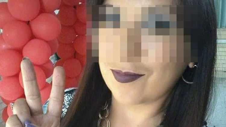 Las fotos de Yolanda, la supuesta maestra de un secundario de Monterrey, que circulan en redes sociales.