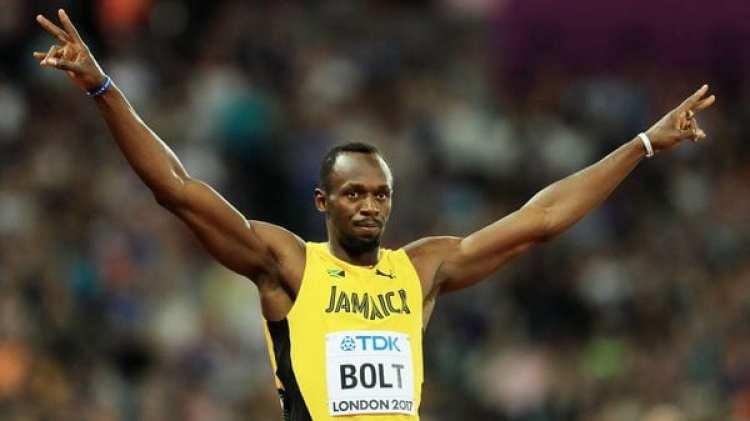 Usain Bolt pasó la primera ronda de los 100 metros y este sábado buscará agigantar su historia en el Mundial de Londres (Getty Images)
