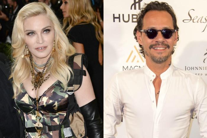 Su hijo aparece cantando en español tema de Marc Anthony — Madonna