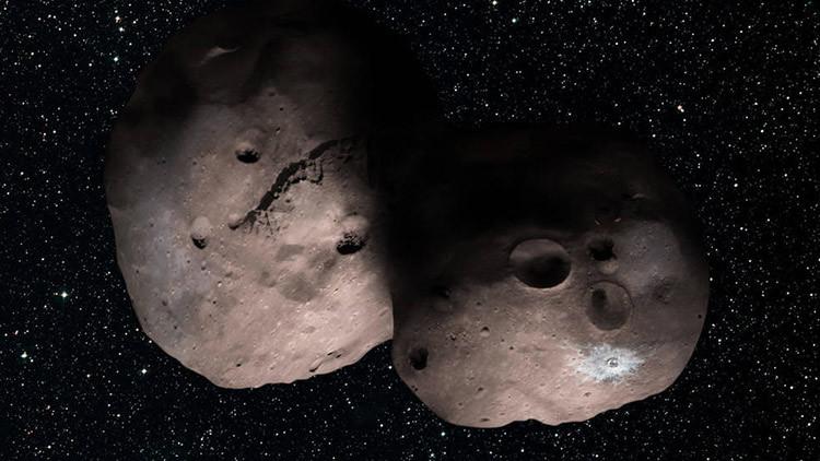 La NASA estudiará un objeto celeste en forma de ocho