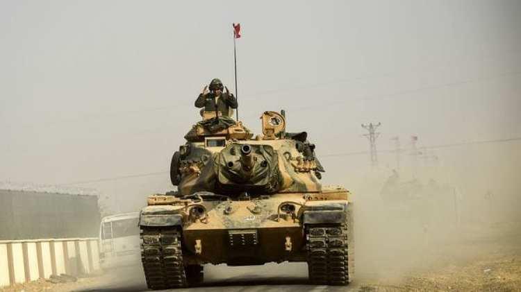 Tanques turcos en Siria (AFP)