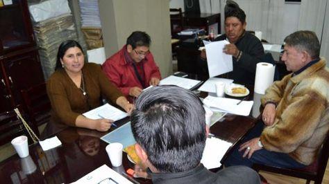 Comisión de Tierra y Territorio. Foto:Senado