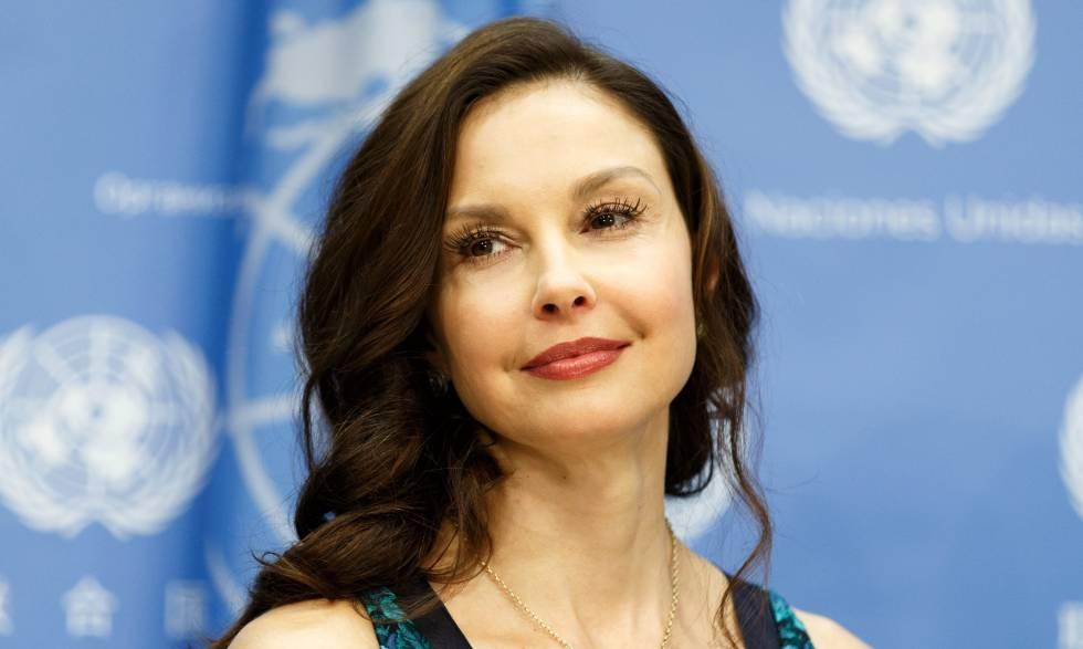 La actriz Ashley Judd durante una conferencia en las Naciones Unidas el pasado año 2016.