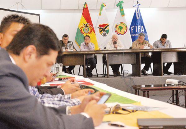 Marco Peredo renunció a la Federación Boliviana de Fútbol