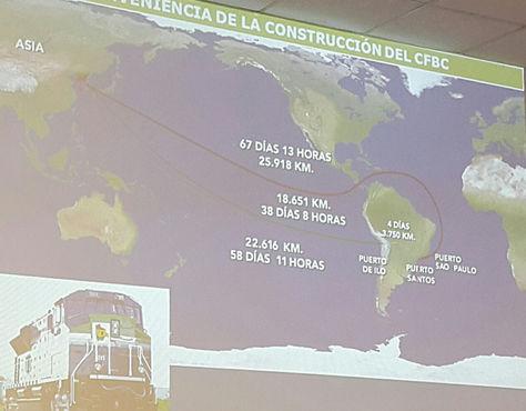 Evo Morales inauguró construcción del primer tren eléctrico de Bolivia