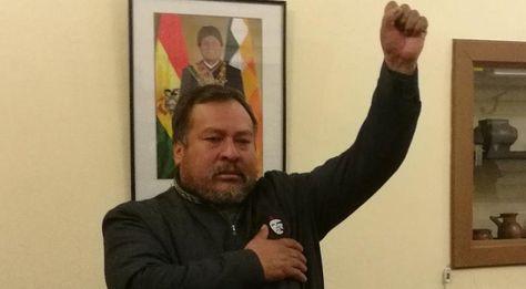 Feliciano Vegamonte jura como Viceministro de Interculturalidad. Foto:Ministerio de Culturas