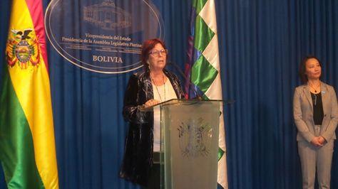 La directora regional de Unicef para América Latina y el Caribe, María Cristina Percerval.