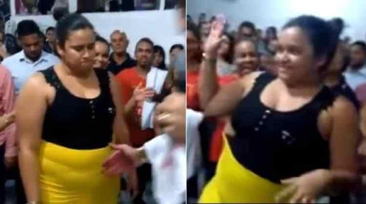 El antes y después de la mujer que quiso bajar 35 kilos por medio de la oración