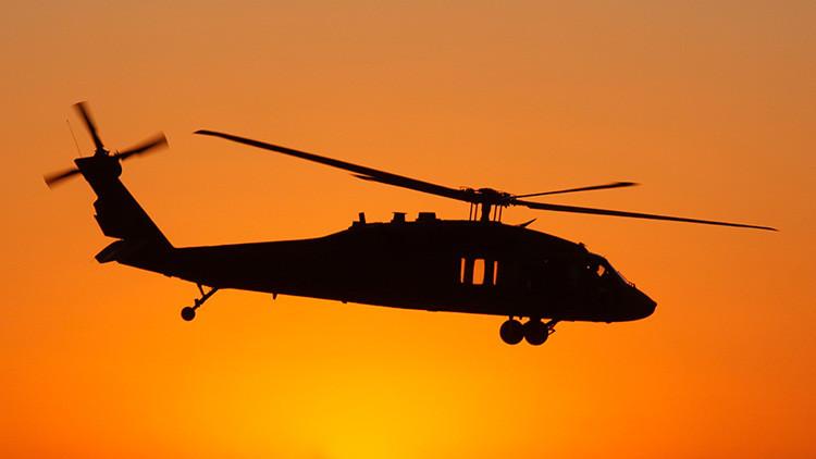 Cae un helicóptero Black Hawk de la Fuerza Aérea de EE.UU. en Hawái
