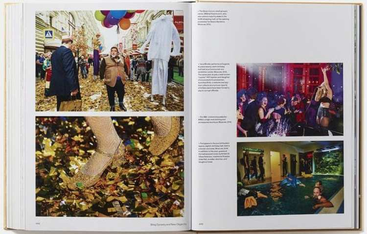 "Interior de ""Generation Wealth"" (Lauren Greenfield / Phaidon)"