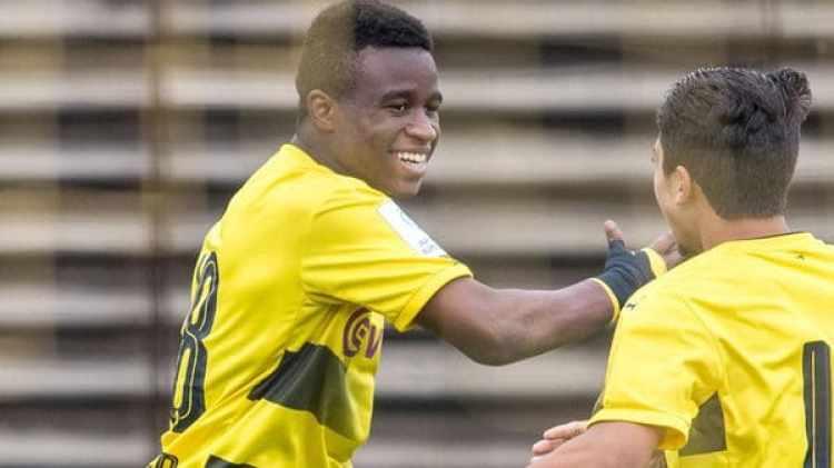 Youssoufa Moukoko es una de las grandes esperanzas del fútbol alemán (Getty Images)