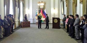 Rusia apoyará a Bolivia para que se convierta en el corazón energético de América Latina