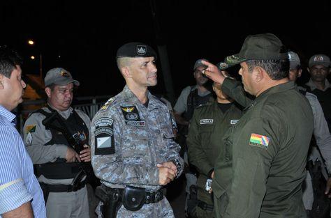 Efectivos de la Policía Federal del Brasil y de Bolivia en Cobija, Pando. Foto: El Progreso de Pando