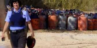 """La célula terrorista de Barcelona tenía 120 cilindros de gas con los que planificó """"uno o más atentados"""" para el mismo día"""